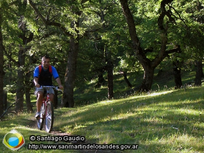 Foto Mountain bike (Santiago Gaudio)