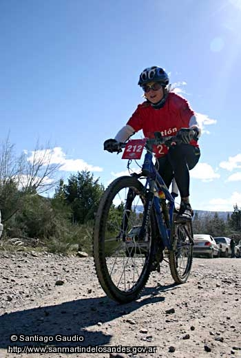 Foto Ascenso en Mountain bike (Santiago Gaudio)