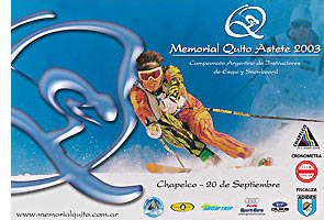 Afiche Memorial Quito Astete 2003
